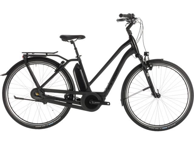Cube Town Hybrid EXC 500 E-citybike Trapez sort
